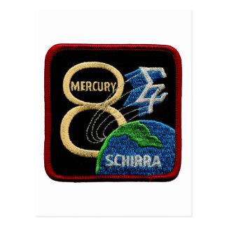 Mercury 8: Sigma 7 - Wally Schirra Tarjetas Postales