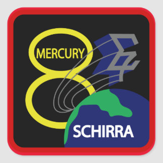 Mercury 8 Sticker