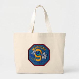 Mercury 9:  Faith 7 – L. Gordon Cooper Tote Bag