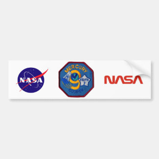 Mercury 9:  Faith 7 – L. Gordon Cooper Bumper Sticker