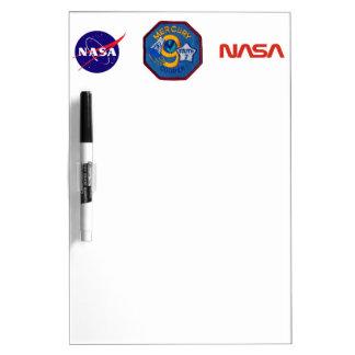 Mercury 9:  Faith 7 – L. Gordon Cooper Dry-Erase Board