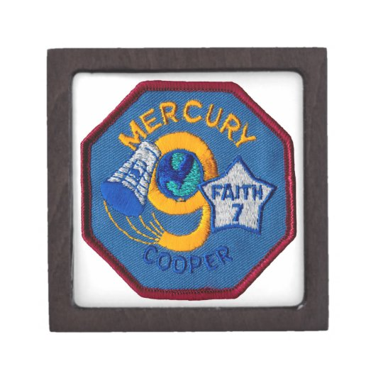 Mercury 9:  Faith 7 – L. Gordon Cooper Keepsake Box