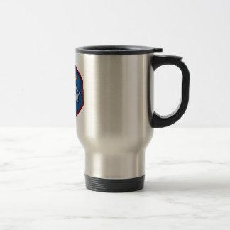 Mercury 9:  Faith 7 – L. Gordon Cooper 15 Oz Stainless Steel Travel Mug