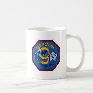 Mercury 9:  Faith 7 – L. Gordon Cooper Classic White Coffee Mug