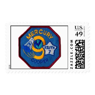 Mercury 9:  Faith 7 – L. Gordon Cooper Postage