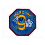 Mercury 9:  Faith 7 – L. Gordon Cooper Postcard