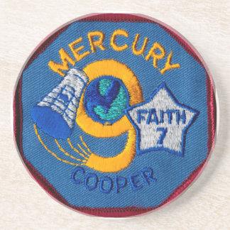Mercury 9:  Faith 7 – L. Gordon Cooper Sandstone Coaster