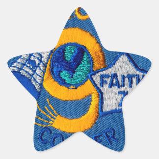 Mercury 9:  Faith 7 – L. Gordon Cooper Star Sticker