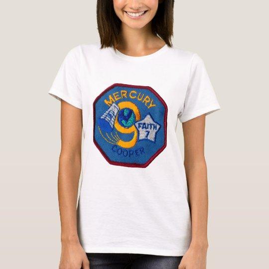 Mercury 9:  Faith 7 – L. Gordon Cooper T-Shirt