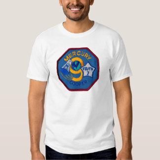 Mercury 9:  Faith 7 – L. Gordon Cooper Tshirt