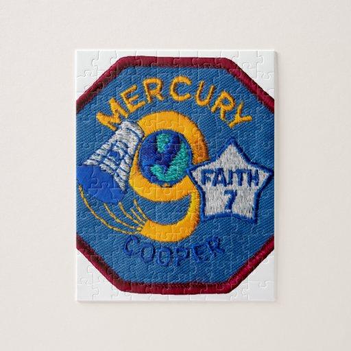 Mercury 9:  Fe 7 - L. tonelero de Gordon Puzzles
