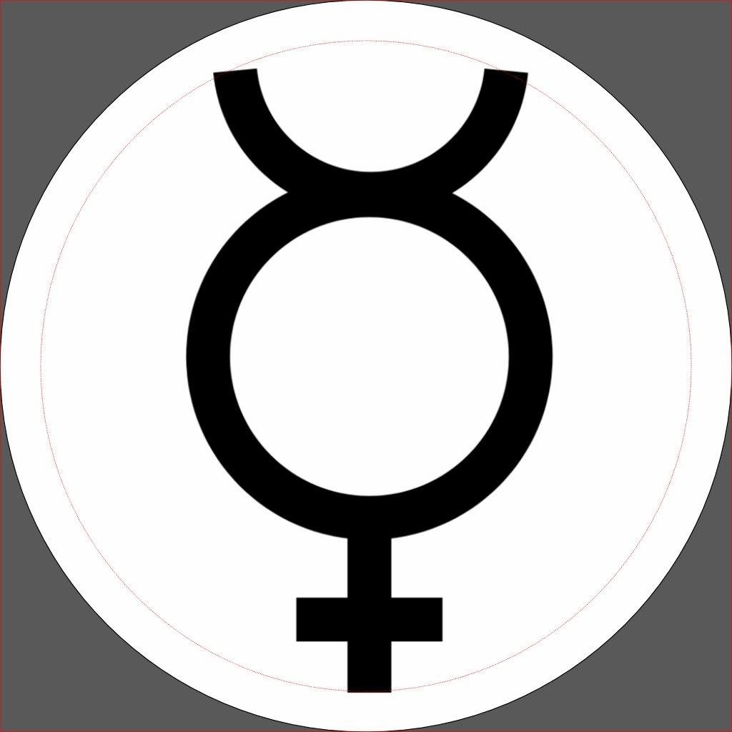 Alchemical Symbol For Mercury Mercury alchemical symbol 2