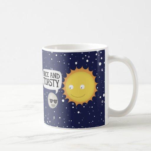 Mercury ama el calor taza de café