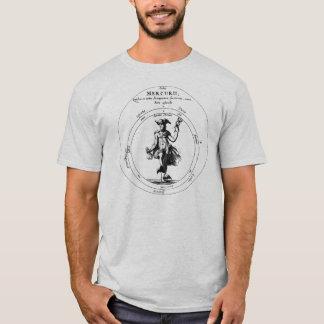 Mercury and Caduceus Alchemical Mercurius T-Shirt