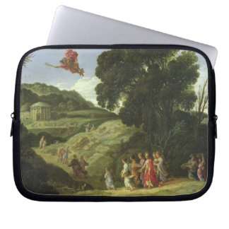 Mercury and Herse, c.1605-08 (oil on canvas) Laptop Sleeve