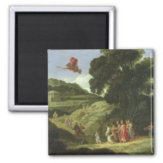Mercury and Herse, c.1605-08 (oil on canvas) Magnet