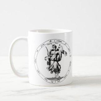 Mercury and Luna mythology Coffee Mug