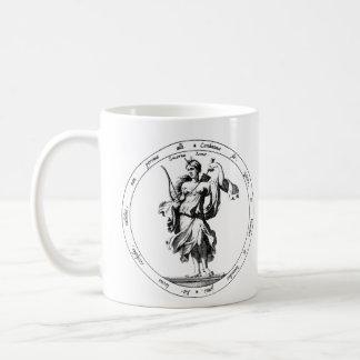 Mercury and Luna mythology Classic White Coffee Mug