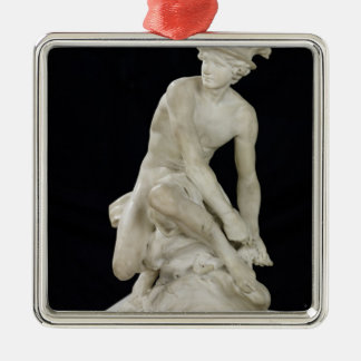Mercury Attaching his Winged Sandals, 1744 Metal Ornament