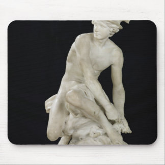 Mercury Attaching his Winged Sandals, 1744 Mouse Pad