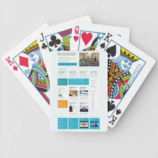 Mercury-blue.jpg Bicycle Playing Cards