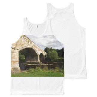 Mercury Bridge, Richmond, North Yorkshire All-Over Print Tank Top