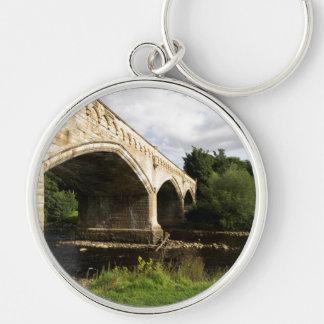 Mercury Bridge, Richmond, North Yorkshire Keychain