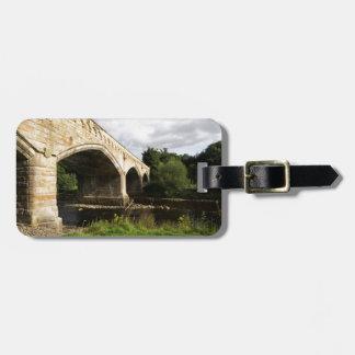 Mercury Bridge, Richmond, North Yorkshire Luggage Tag