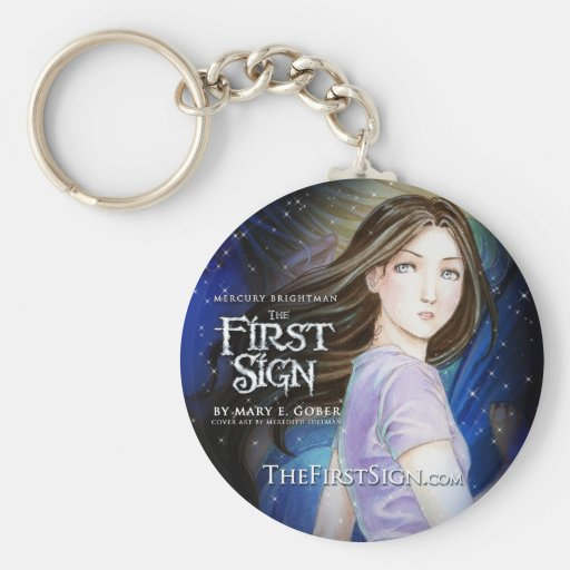 Mercury Brightman: The First Sign, Cover Keychain