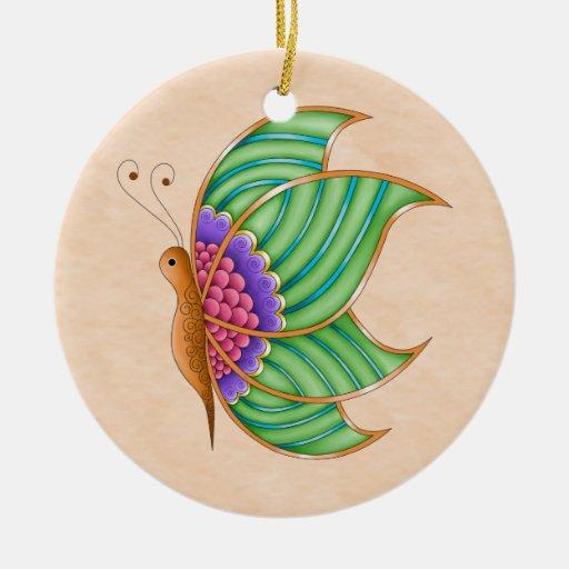 Mercury Butterfly Ornament