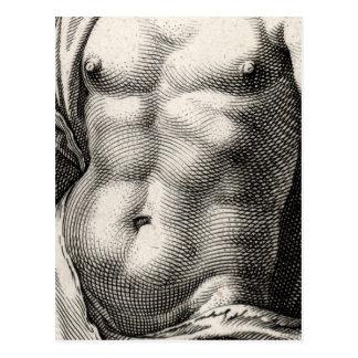 Mercury by Goltzius Post Card