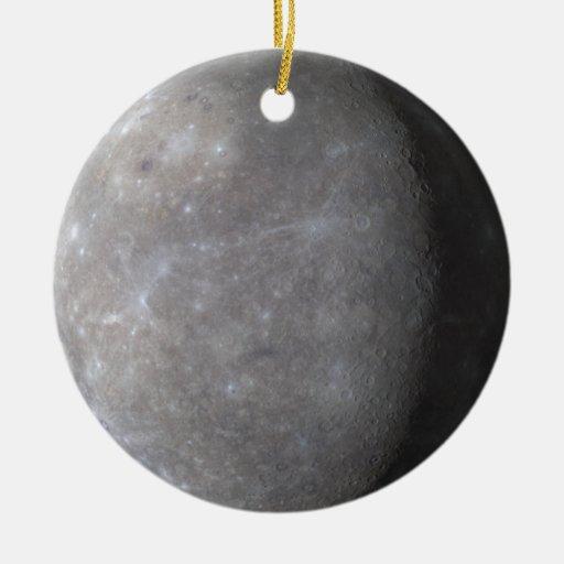 Mercury Ceramic Ornament