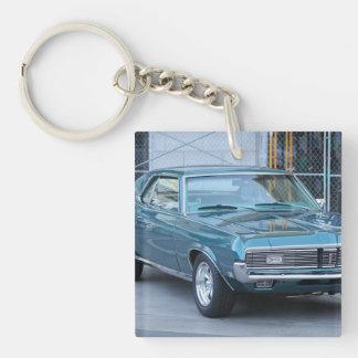 Mercury Classic Cougar Keychain