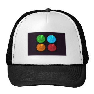 Mercury Collage Mesh Hats