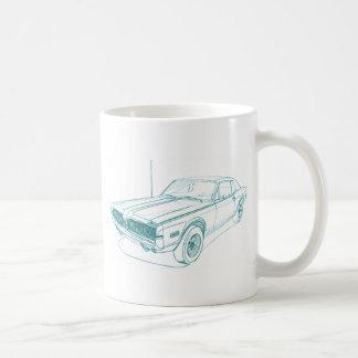 Mercury Cougar 1968 Coffee Mug