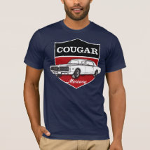 Mercury Cougar (1968) crest illustration T-Shirt