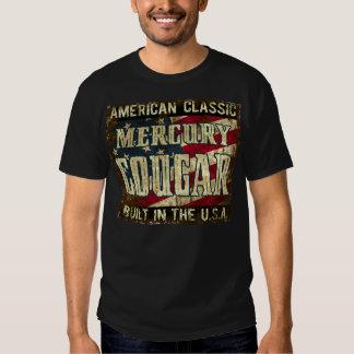 Mercury Cougar - Classic Car Built in the USA Shirt