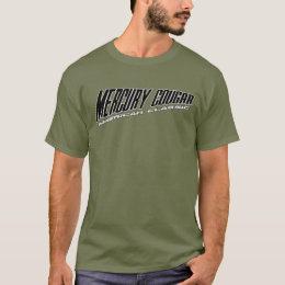 Mercury Cougar - Slanted Design American Classic T-Shirt