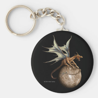Mercury Dragon Keychain