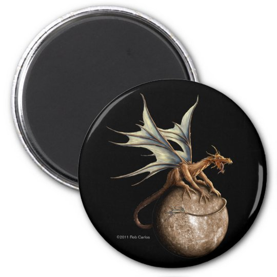 Mercury Dragon Magnet
