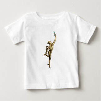 Mercury Enjoying A Beer - Vintage Illustration Baby T-Shirt