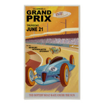 Mercury Grand Prix Poster
