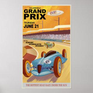 Mercury Grand Prix Poster at Zazzle