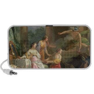 Mercury, Herse y Aglauros, 1763 (aceite en lona) Altavoces De Viaje