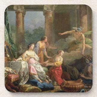 Mercury, Herse y Aglauros, 1763 (aceite en lona) Posavaso