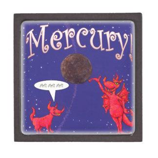 Mercury Hottie and Dog Jewelry Box