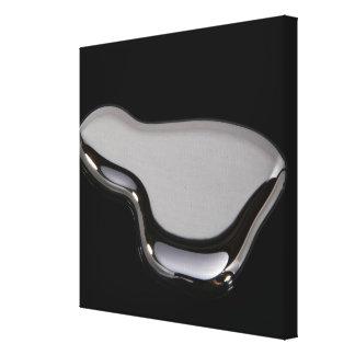 Mercury líquido impresión de lienzo
