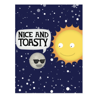 Mercury loves the heat postcards