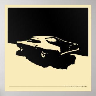 Mercury Marauder, 1969 - ennegrézcase en el poster