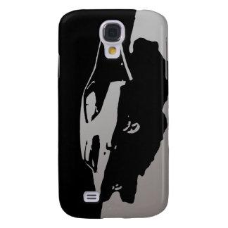 Mercury Marauder 1969 - Silver on dark case Samsung Galaxy S4 Cases